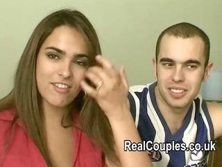 real pair valentina and david filmed