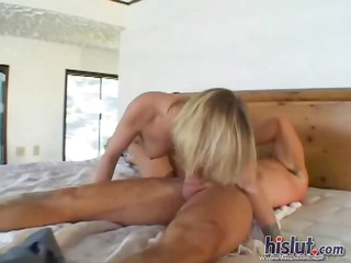 katie receives drenched in cum