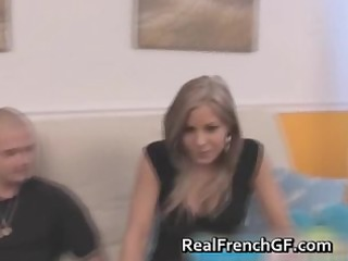 hot blonde french gf anal stuffed episode part7