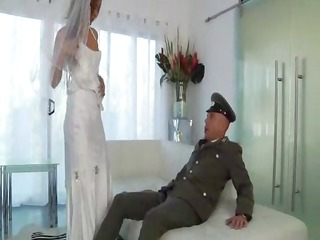 young lalin girl bride one final fuck