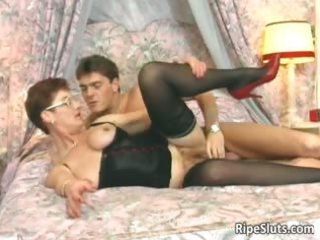 slutty older redhead acquires that is hairy part7