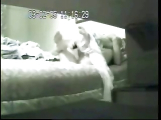 hidden cam catches my mom with her superlatively