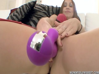 cheating wife julia silver showing off blow job
