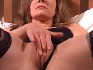 aged wife is getting filmed by hubby rubbing and