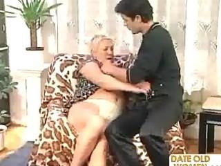 granny bonks a younger fellow