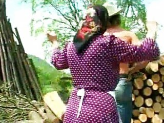 dirty granny screwed lumberjack