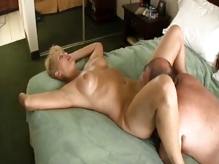 chubby chap fucking blond older whore