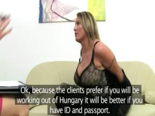 older woman penetrate on leather ottoman