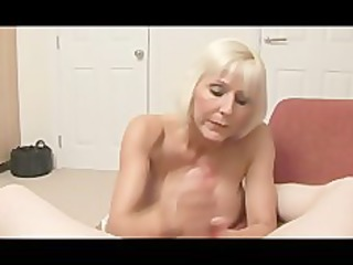 granny bimbo gets mean with a schlong pov