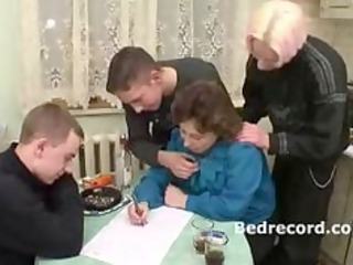 mature russian with 6 lads 11