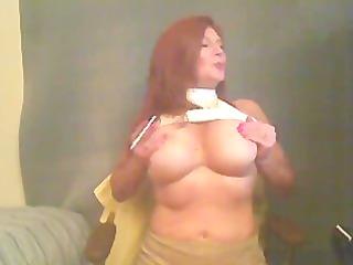 large tit smokin