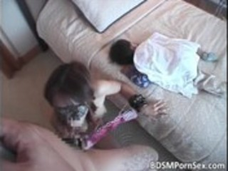 dark brown oriental mommy can bondage