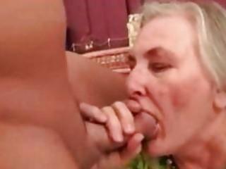 ancient granny likes sex poolside