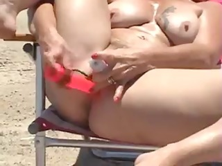 she is like to do it is at the beach