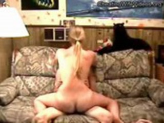excited cheating wife visits and copulates her