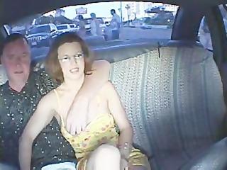 pair having sex in a cab