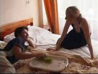 tiny russian mature and younger amateur mamma