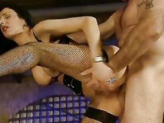 mature german drilled in the one and the other