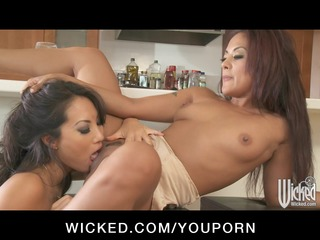 breasty oriental gazoo bonks japanese lesbo wife
