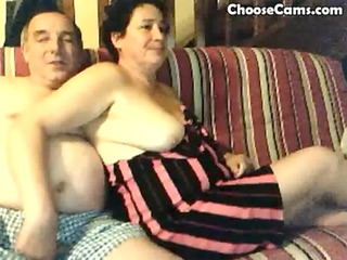 horny grandma and grandpa having joy