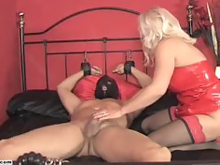 lustful mastix lana rides cock and forces serf to