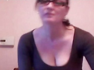 snatch fingering milf with glasses