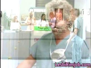 lustful lesbian nurses booty ass drilling free