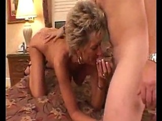 hot busty mature cougar oral job pleasures
