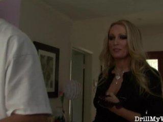 hot wife doing a slutty stranger