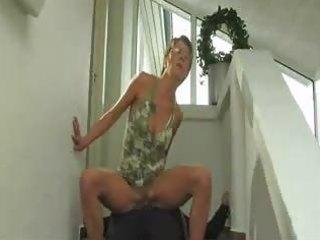 mature blonde enjoying pool sex german