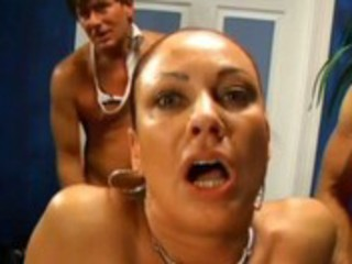 mother i gangbang with creampie and anal creampie