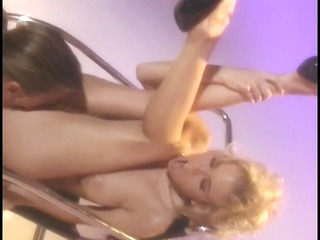 jenna jameson drops to her knees and sucks a hard