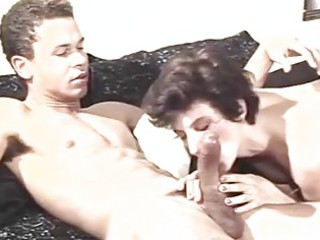 retro mother i enjoys youthful dick