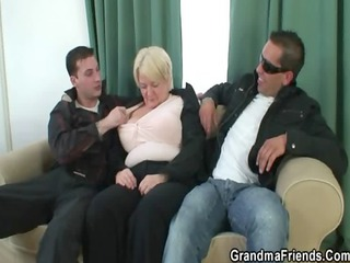 chaps fuck absolutely boozed granny