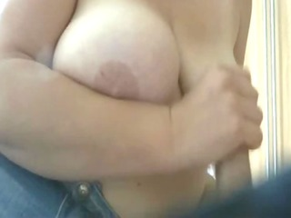 breasty d like to fuck does a handjob with happy