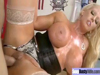 hard banged by big rod love this whore breasty d