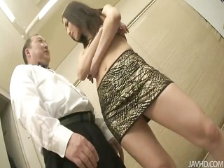 nozomi mashiro takes matters in hand as she is