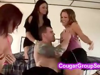 dong craving cougars get what they desire
