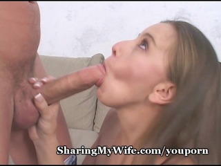 diminutive wife takes massive cock