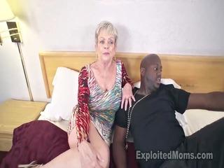 busty granny in creampie movie scene