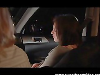 lesbo hitchhiker acquires picked up and fucked