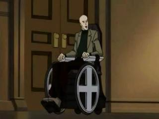 animated x-men episode with a aged brunette slut