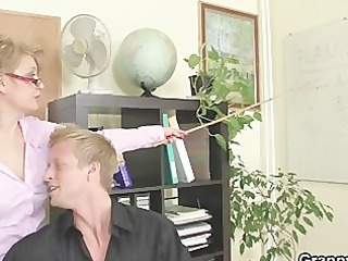 office slut enjoys riding his meat