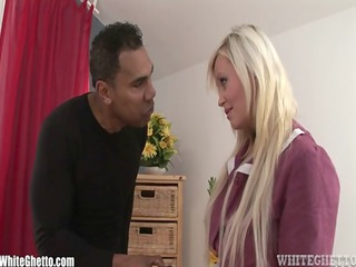 milf gets punished by bbc for having a vibrator