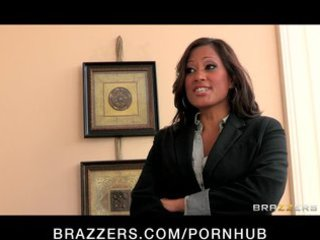 big-tit brunette milf comes home to discover