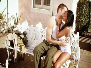 soldier back from war copulates his wife