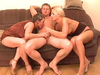 three-some with my mother