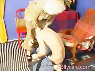 old mom spanks him and then fucsk him oral