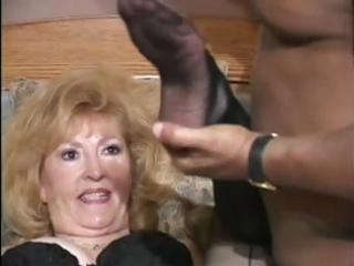 indecent granny tries a lot of recent things in
