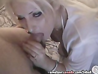 gonzo orall-service by nerd milf in real canadian